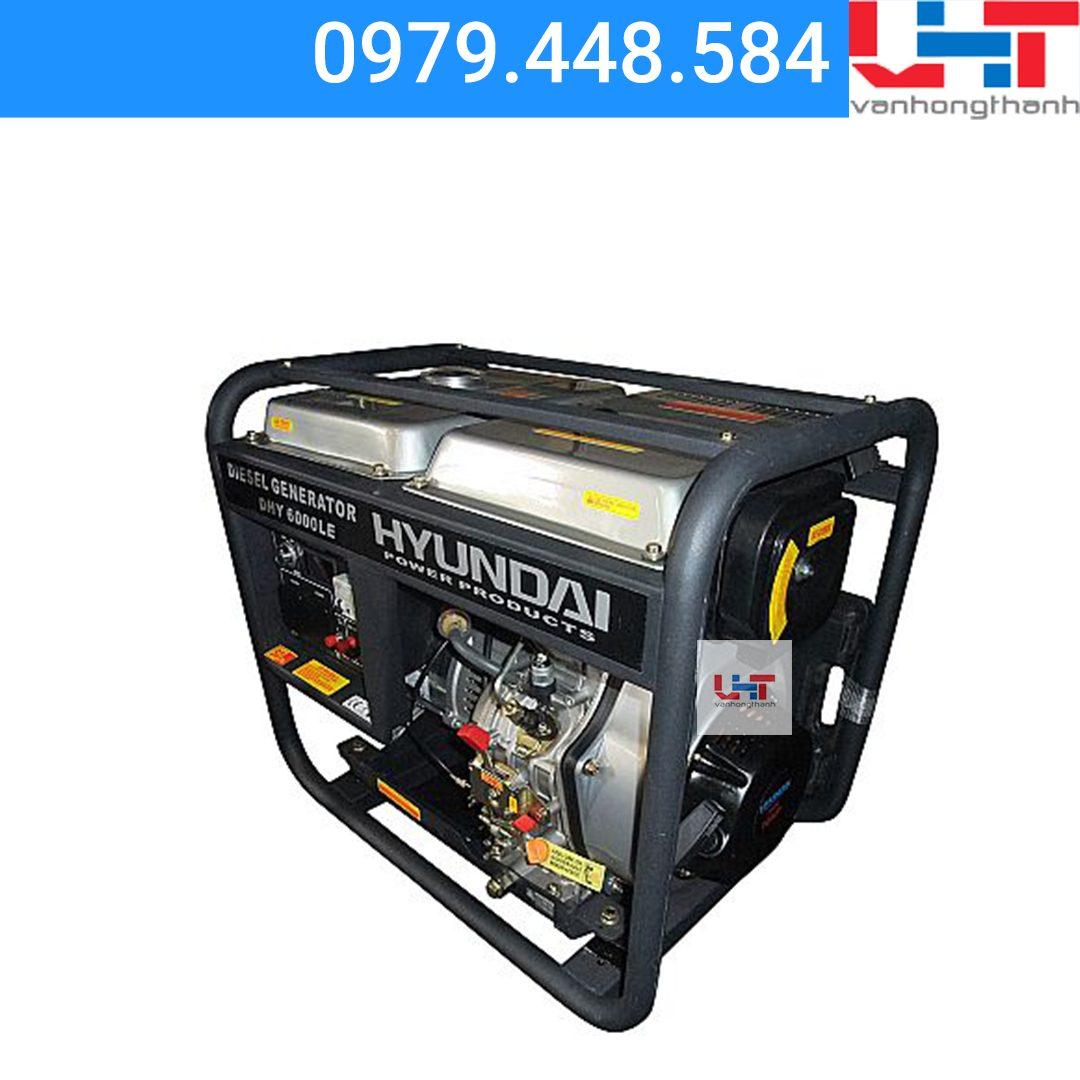 Máy phát điện Gia đình Hyundai DHY6000LE (5.0Kw-5.5Kw)
