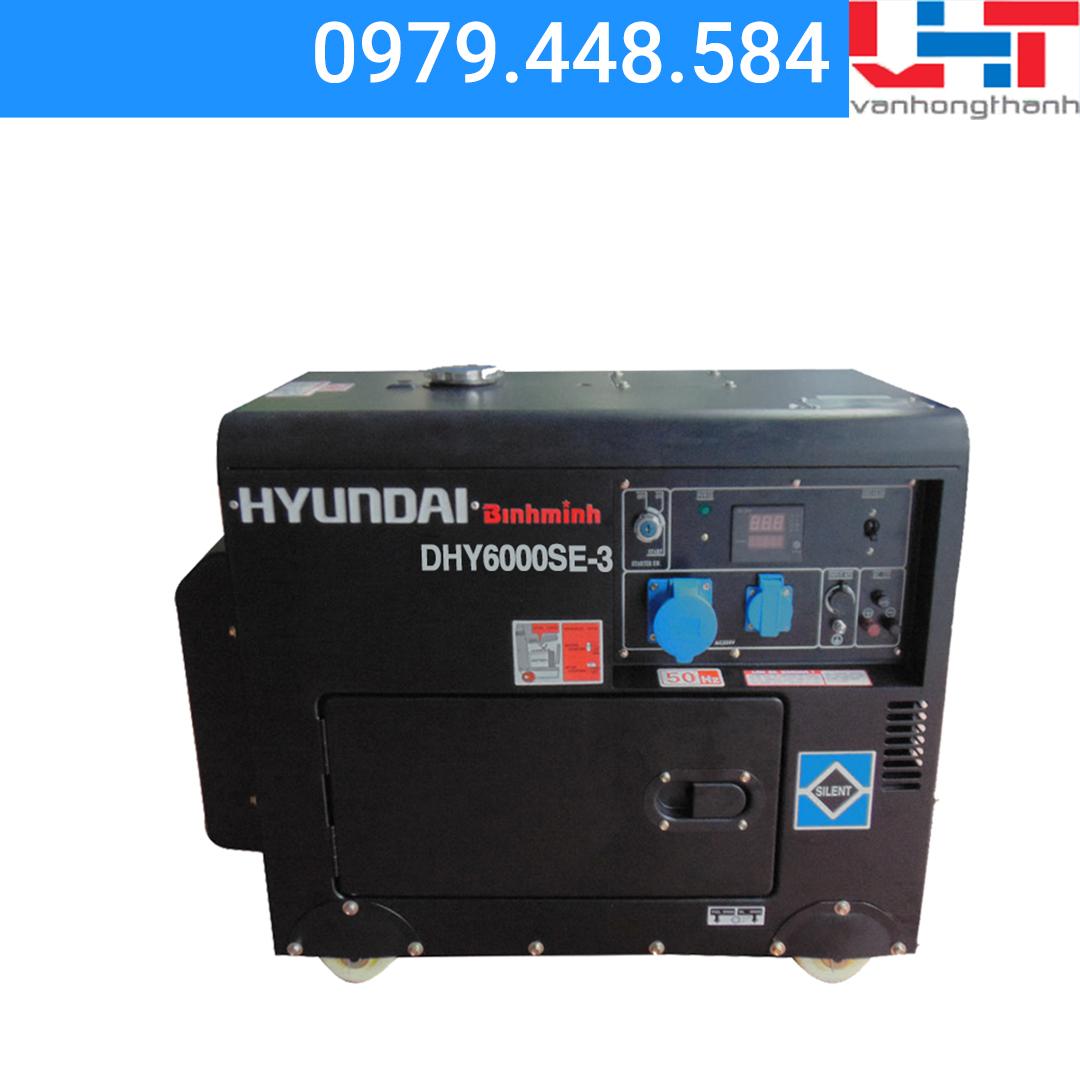 Máy phát điện Gia đình Hyundai DHY6000SE – 3 pha (5.0Kw – 5.5Kw)