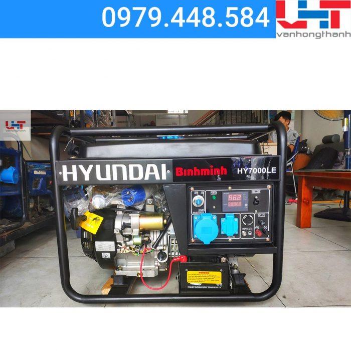 Máy phát điện Gia đình Hyundai HY7000LE (5.0KW – 5.5KW)