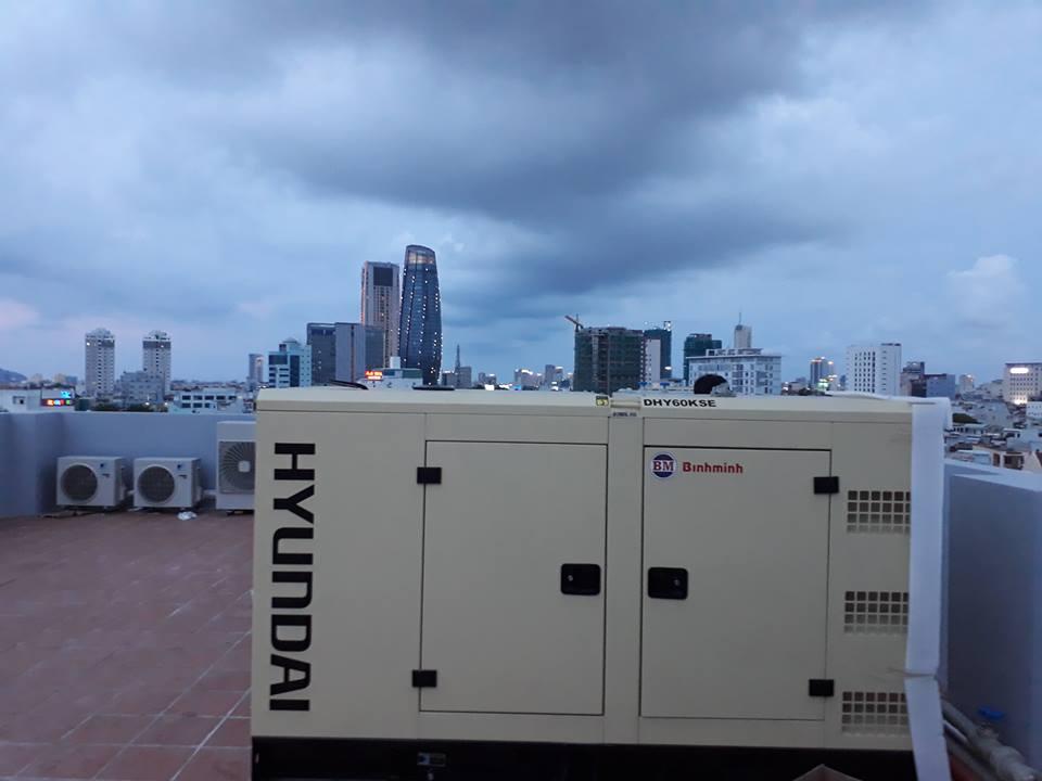 Lắp đặt máy phát điện cho Công ty Thành An