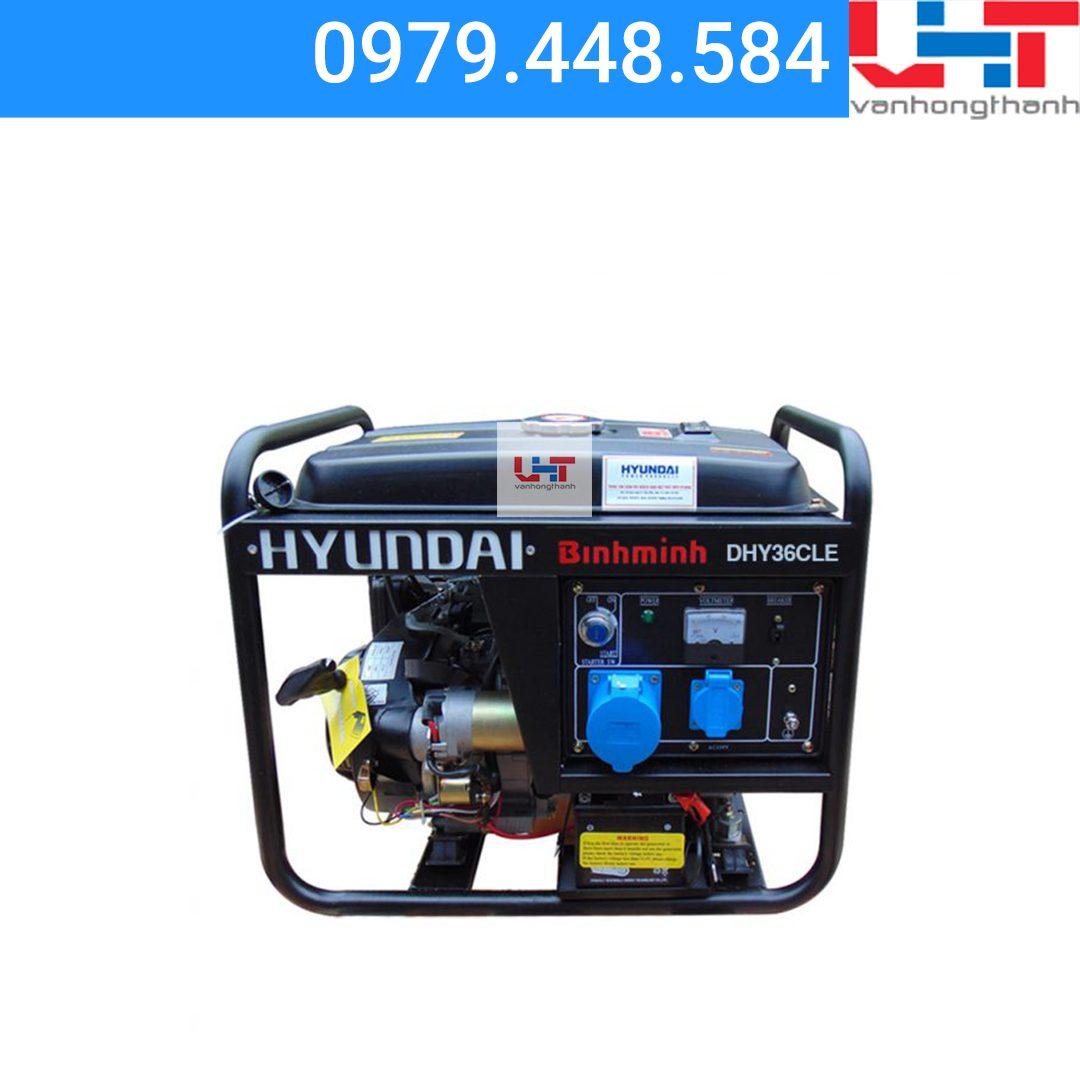 Máy phát điện Gia đình Hyundai DHY36CLE (2.7Kw-3.0Kw)