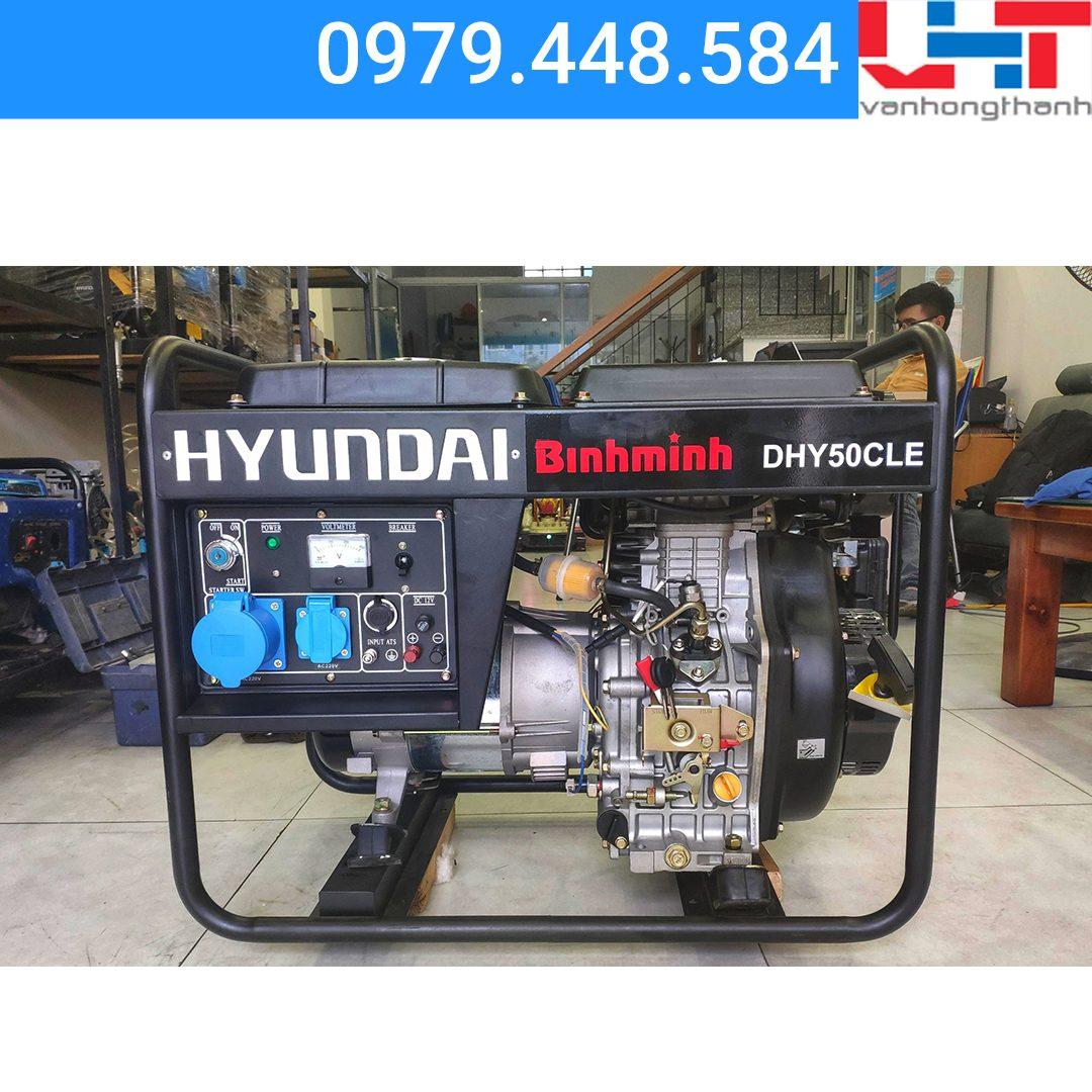 Máy phát điện Gia đình Hyundai DHY50CLE (4.2Kw-4.6Kw)