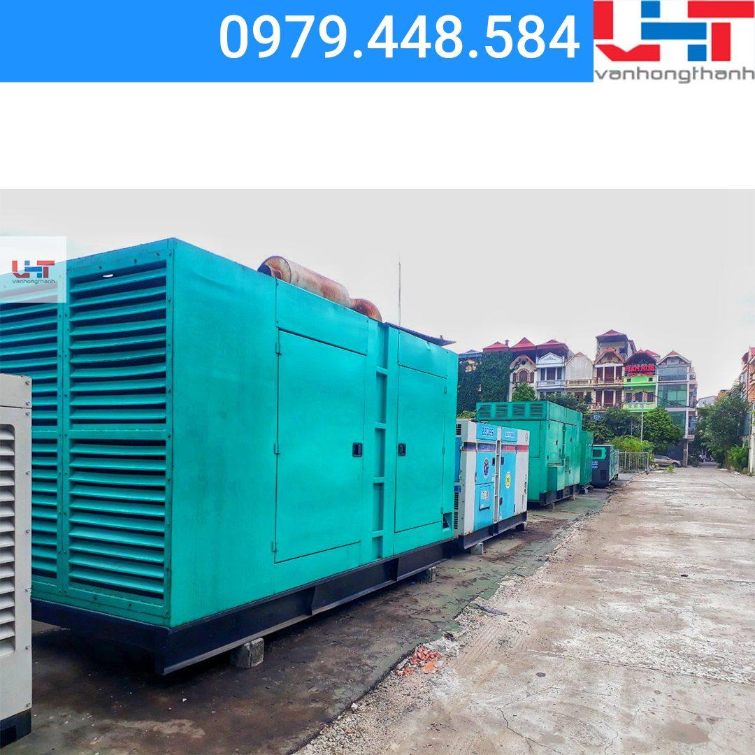Máy phát điện cho thuê CUMMINS (550KVA)