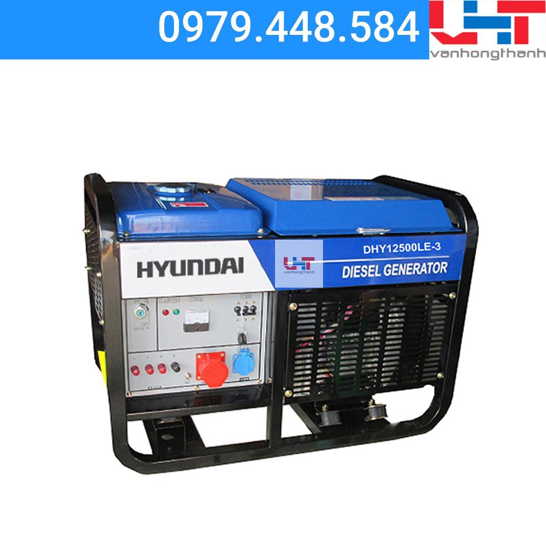 Máy phát điện Hyundai DHY12500LE-3 pha (10Kw-11Kw)
