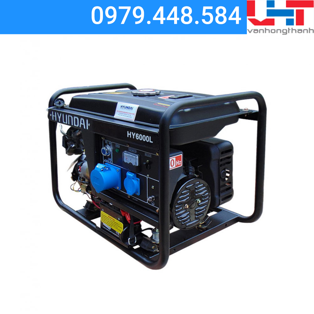 Máy phát điện Gia đình Hyundai HY6000L (4.0KW – 4.4KW)