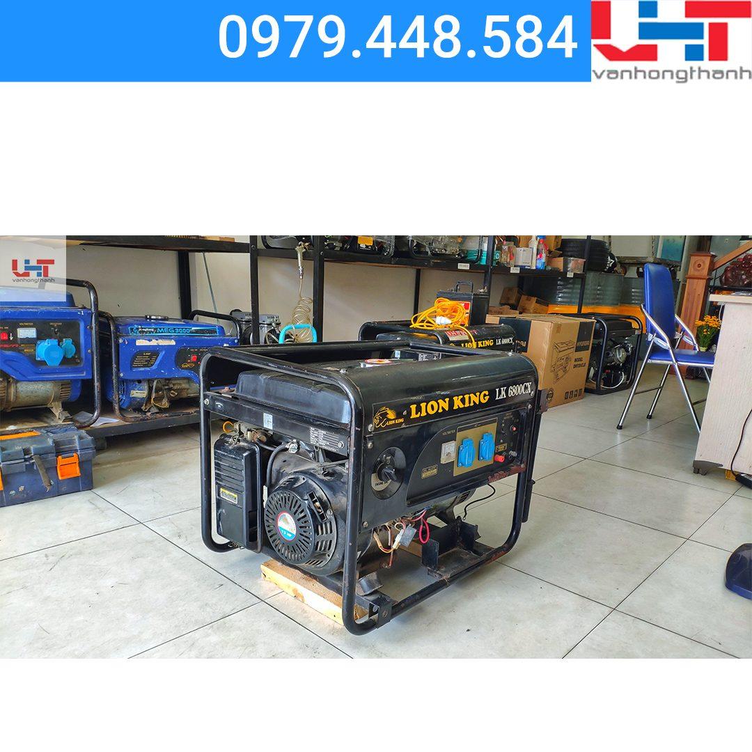 Máy phát điện cho thuê Lionking LK6800CX (5.0-5.5KW)