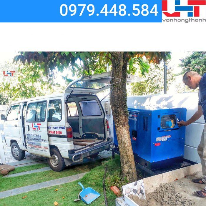 Lắp đặt máy phát điện cho Bất động sản Thiên Kim