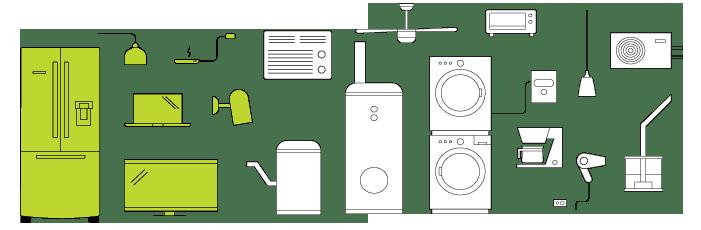 Các thiết bị điện trong nhà