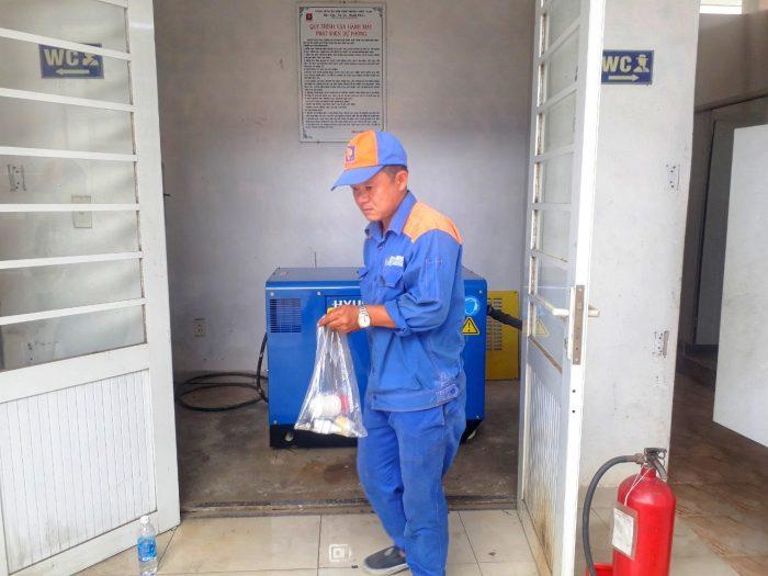 Lắp đặt máy phát điện Xăng dầu Núi Thành